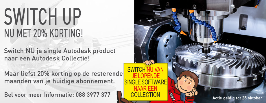 Switch to Collection actie